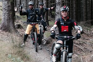 Mountain bike guiding at Bike Park Wales
